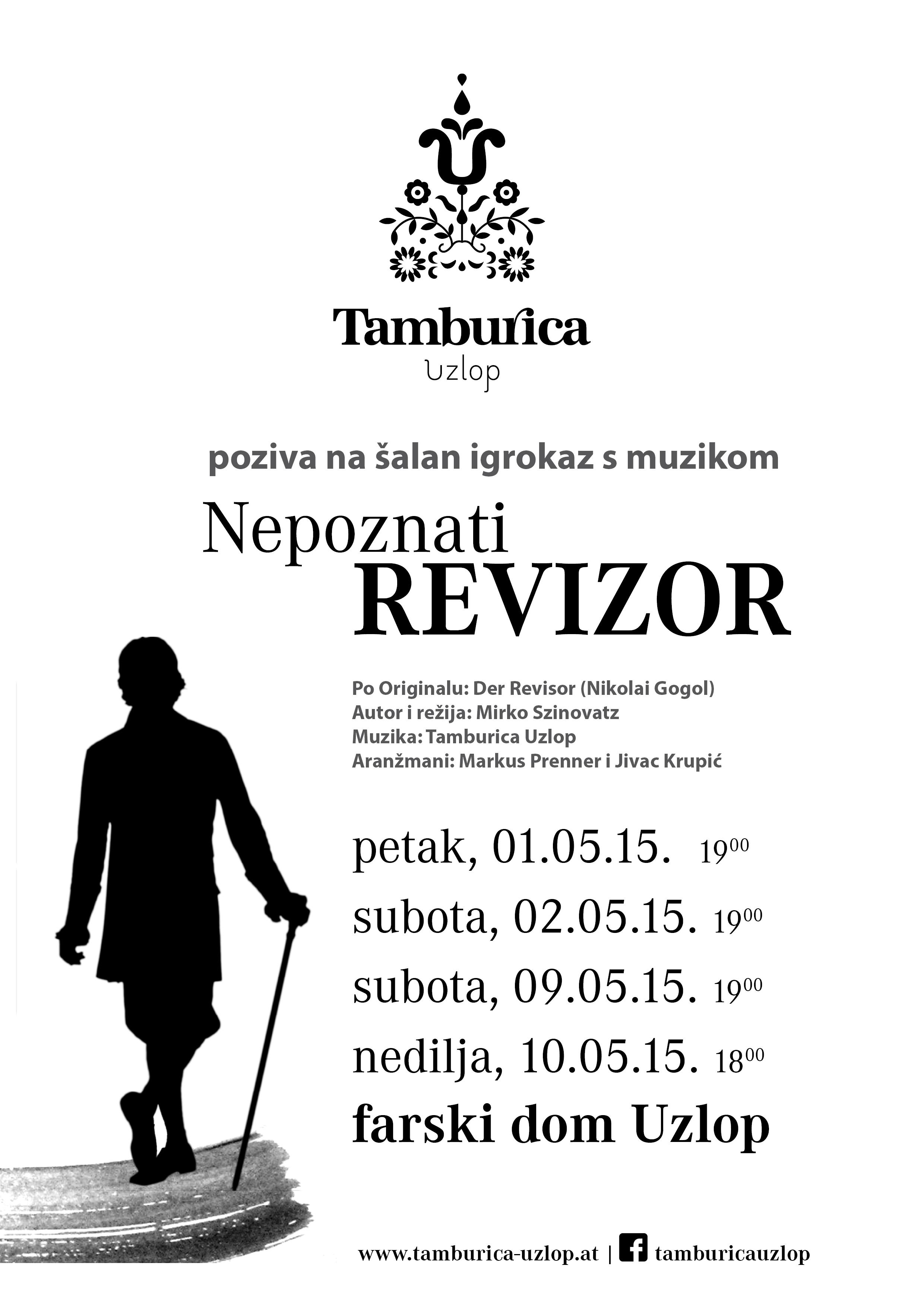 Plakat REVIZOR TU